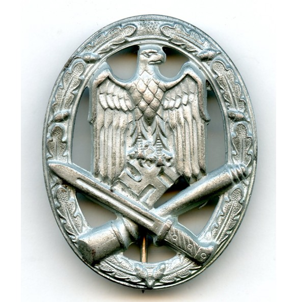 "General assault badge by F.A. Assmann & Söhne ""A"" STEEL"