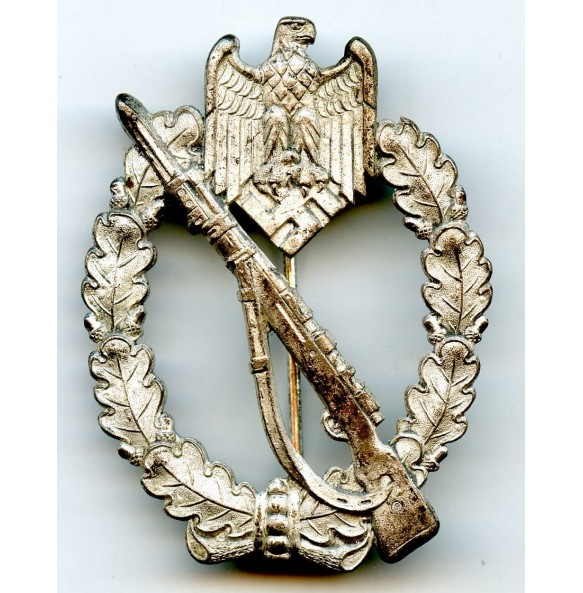 "Infantry Assault Badge in silver ""Deschler mutant"""