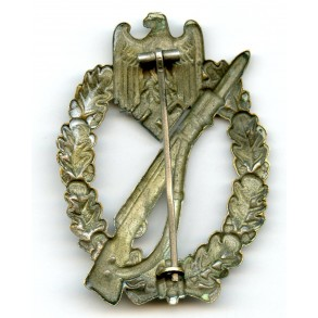 Infantry Assault Badge in silver by O. Schickle