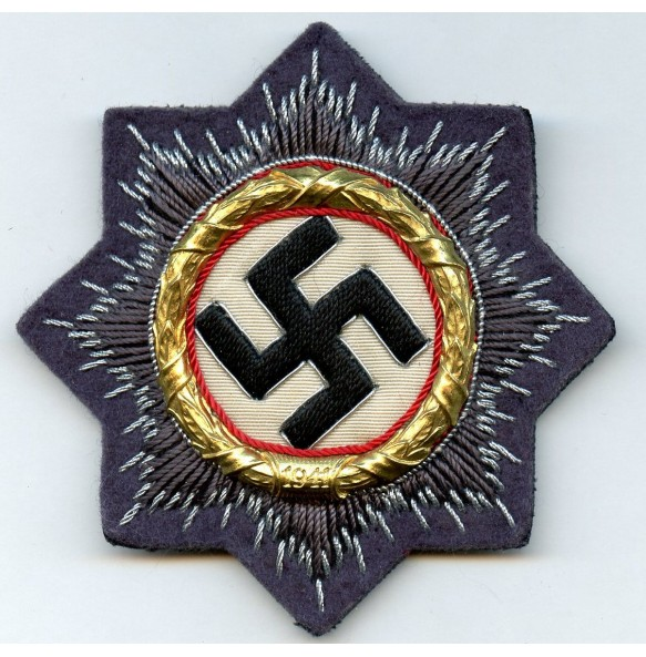 German Cross in gold for Luftwaffe troops MINT