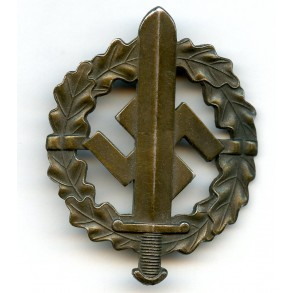SA sport badge in bronze by W. Redo