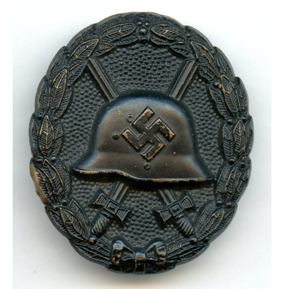 Wound Badge in Black, 1st pattern by Petz & Lorenz