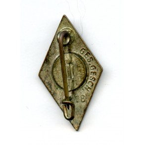 "HJ membership pin by Paulmann & Crone ""M1/78"""
