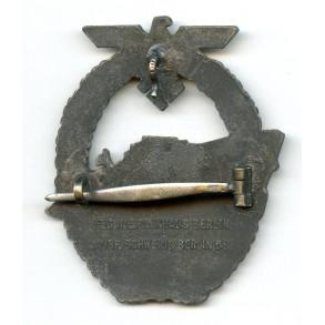 Kriegsmarine S-Boat badge by Schwerin Berlin