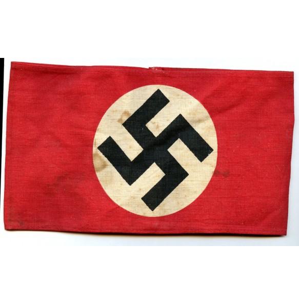 NSDAP armband, printed variant