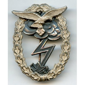 Luftwaffe ground assault badge by G. Brehmer