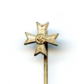 "War merit cross 1st class with swords 9mm miniature by Steinhauer & Lück ""L/16"""