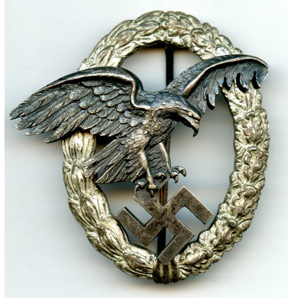 "Luftwaffe observer badge by C.E. Juncker ""J1"""