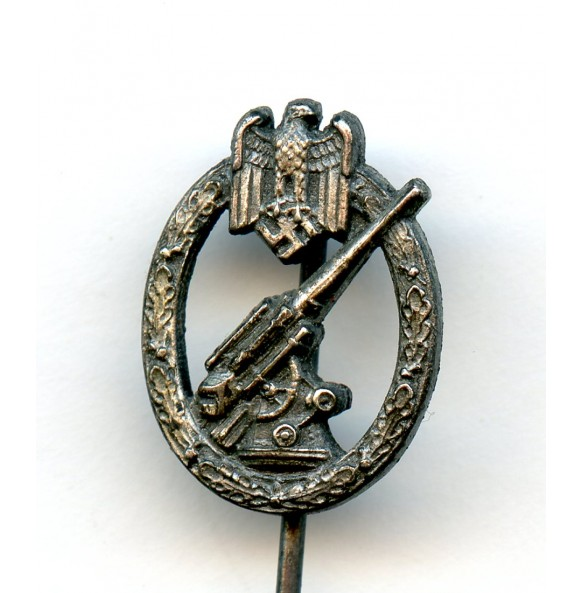 Army flak badge 16mm miniature