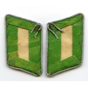 Luftwaffe Field Division Leutnant collar tabs