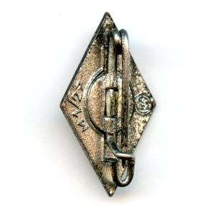 "HJ membership pin by E. L. Muller ""M1/27"""