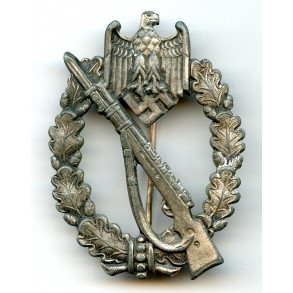 Infantry assault badge in silver by C. Wild