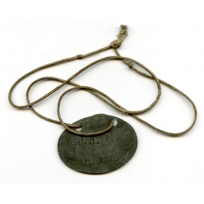 WW1 dog tag Infanterie Regiment 93
