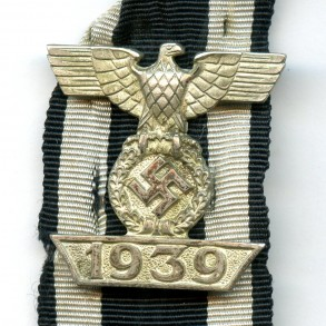 "Iron cross clasp 2nd class ""intermediate design"""