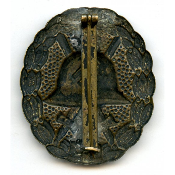 Wound badge in black, 1st pattern variant