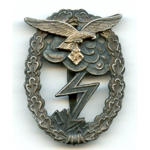 "Luftwaffe ground assault badge by R. Karneth ""R.K."""