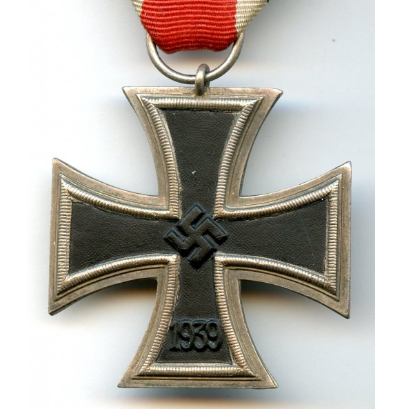Iron cross 2nd class by O. Schickle, schinkelform, not magnetic!