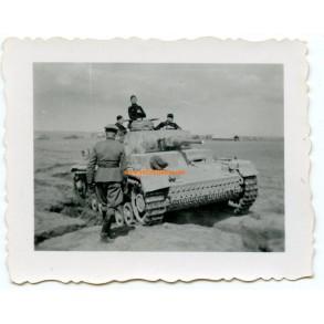 Private snapshot Pz III, training SS?