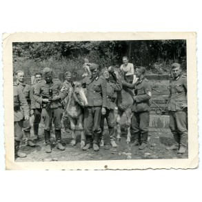 Private snapshot SS Polizei medics