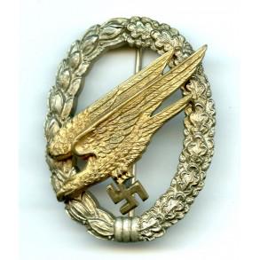 Luftwaffe paratrooper badge by JMME & Sohn