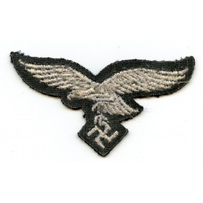 Luftwaffe breast eagle on black wool