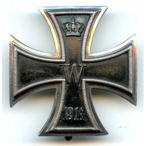 "WW1 Iron cross 1st class ""925"" silver"