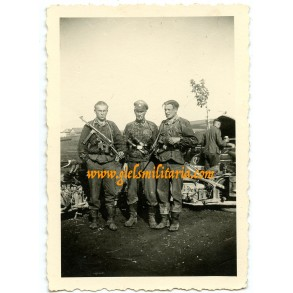 Private snapshot LSSAH troops in camouflage/combat outfit