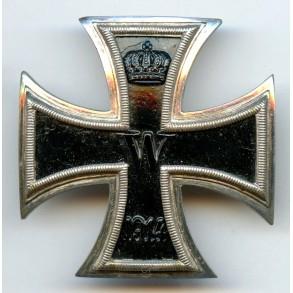 WW1 Iron cross 1st class by unknown maker