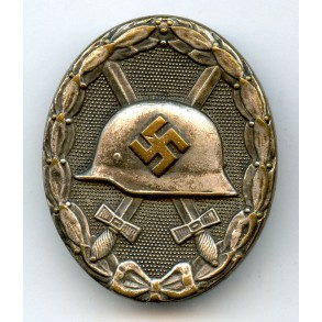 "Wound badge in silver by Steinhauer & Lück ""4"""