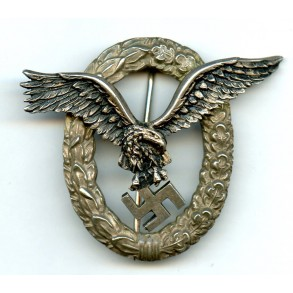 "Luftwaffe pilot badge by C.E. Juncker ""J3"""
