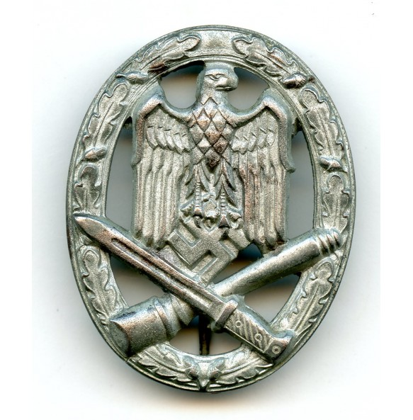General assault badge by F.A. Assmann & Söhne, STEEL variant