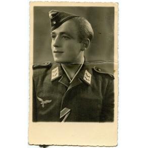 Portrait decorated Luftwaffe gefreiter taken in Italy