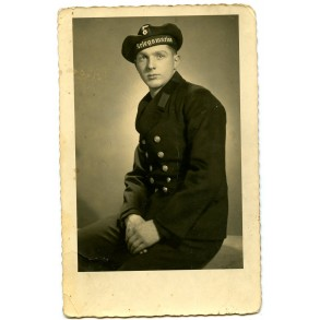 Portrait kriegsmarine sailor, Middelburg, Holland