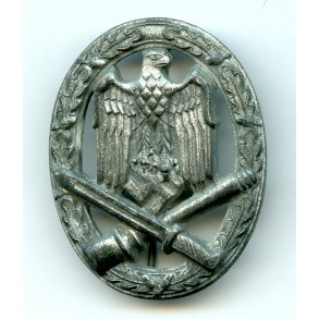 """General assault badge by K. Wurster """"small w"""""""