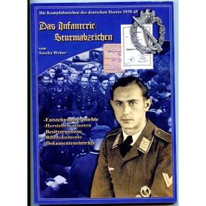 """Book """"Das Infanterie Sturmabzeichen"""" by Sascha Weber 2006."""