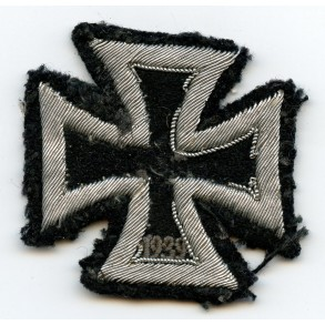 Iron Cross 1st class, cloth/bullion variant
