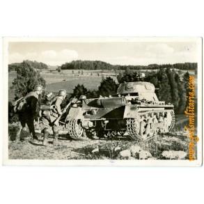 Period panzer postcard Panzer I