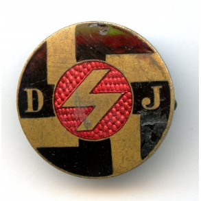 """DJ """"Deutsche Jugend"""" membership pin"""
