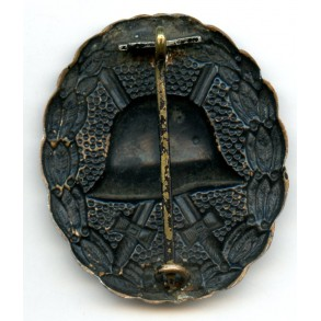 WW1 Wound badge in black, CUPAL variant