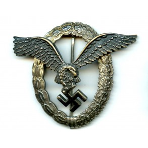"Luftwaffe pilot badge by Berg & Nolte ""B&NL"""