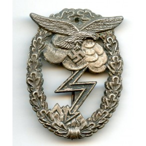 Luftwaffe ground assault badge by A. Wallpach