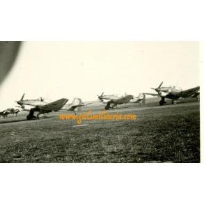 Private snapshot pre-war J-87 Stuka's 1938
