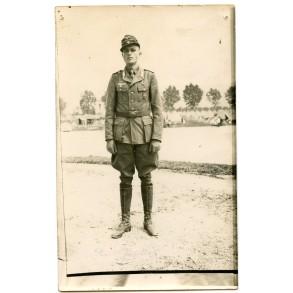 "Portrait photo decorated ""Afrikakorps"" officer"
