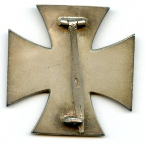 Iron cross 1st class by Deschler & Sohn + rare BLUE box