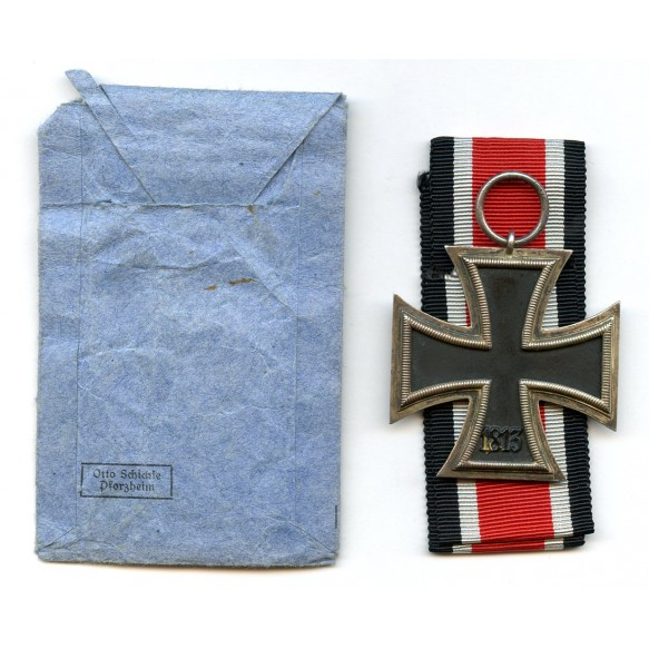 Iron cross 2nd class by O. Schickle + package