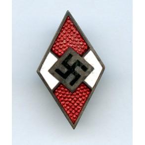 """HJ membership pin by Gotllieb Friedrick Keck & Sohn  """"M1/93"""""""