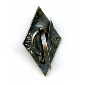 "HJ dagger diamond pin by Frank & Reif ""M1/102"""