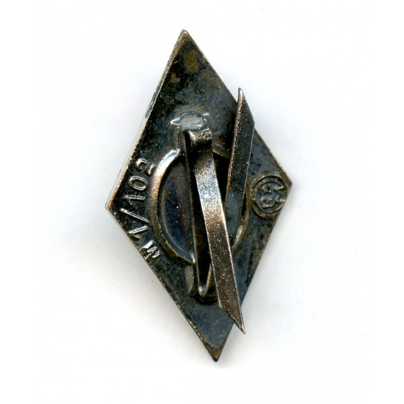 "HJ dagger diamond pin by Frank & Reif ""M1/102"""
