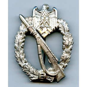 "Infantry Assault Badge in silver by Josef Feix & Söhne ""JFS"""