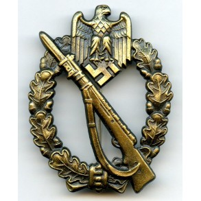 "Infantry Assault Badge in Bronze by J.Feix & Söhne ""JFS"""